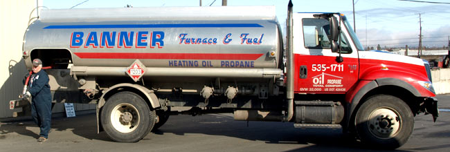 Heating Oil Delivery Service Banner Furnace Fuel